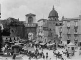 Naples's Piazza De Nicola Photographic Print
