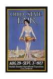 1927 Ohio State Fair Giclee Print