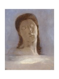 Closed Eyes Giclee Print by Odilon Redon
