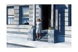 Summertime Giclée-tryk af Edward Hopper