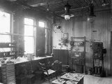 Private Laboratory of Charles Steinmetz Photographic Print