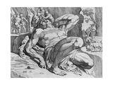 Ulysses Overcoming Polyphemus Giclee Print by Theodor van Thulden