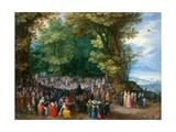 The Sermon on the Mount Giclée-tryk af Jan Brueghel the Elder