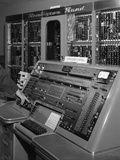 1950s Control Panel of Remington Rand Univac Computer Photographic Print