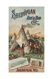 Advertisement for Sheboygan Boot and Shoe Company Giclee Print