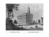 Mormon Temple in Nauvoo, Illinois Giclee Print