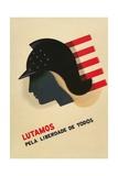 Portuguese Language Propaganda Poster Giclee Print