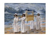 The Ark of the Covenant Passes over the Jordan Giclee Print by James Tissot