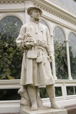 Carolus Linnaeus Statue at Sefton Park Palm House Photographic Print by Michael Nicholson