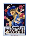 Geneve, Fete Des Fleurs Poster Giclee Print