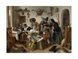 """Beware of Luxury (""""In Weelde Siet Toe"""") Giclee Print by Jan Steen"""