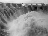 Spillway at Gatun Dam Photographic Print