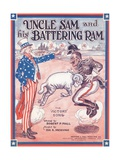 Sheet Music for Uncle Sam and His Battering Ram Giclee Print