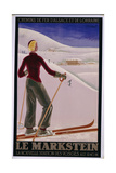 Le Markstein Poster Giclee Print