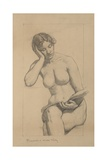 Romance - Nude Study Giclee Print by Kenyon Cox