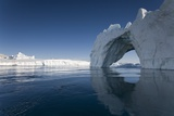 Arched Iceberg in Ililussat Photographic Print by Paul Souders