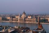 Danube in Budapest Photographic Print by Vittoriano Rastelli