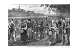 New England Factory Workers Giclee Print