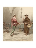 Book Illustration from Romeo and Juliet by William Shakespeare Wydruk giclee autor William Shakespeare