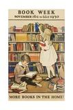 1930 Children's Book Council Book Week Giclée-Druck