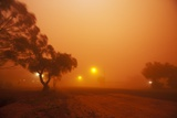 Dust Storm in the Australian Outback Photographic Print by Paul Souders