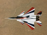 Red, White, and Blue F-15B in Flight Photographic Print by Jim Ross