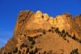 Morning Light on Mount Rushmore Memorial Photographic Print by Paul Souders