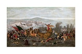 The Israelites Crossing the Red Sea (The Parting of the Red Sea) Giclee Print by Juan de la Corte