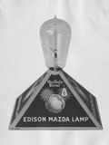 Edison Mazda Lamp Photographic Print