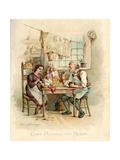 Caleb Plummer and Bertha Giclee Print by Frances Brundage