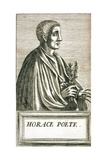 Portrait of Horace Giclee Print by Andre Thevet