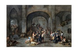 To Visit the Imprisoned Giclee Print by Cornelis De Wael