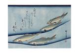 Rivertrout Giclée-Druck von Ando Hiroshige