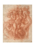 Study for a Lamentation Giclee Print by  Michelangelo Buonarroti