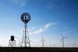 Wind Farm, Vega, Texas Photographic Print by Paul Souders
