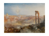 Modern Rome-Campo Vaccino Giclee Print by Joseph Mallord William Turner