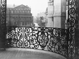 Metal Filigree Railing Photographic Print