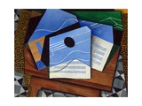 Guitar on a Table Giclee Print by Juan Gris