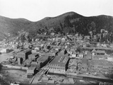 Deadwood, South Dakota from Mount Moriah Photographic Print