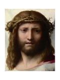 Head of Christ Giclee Print by  Correggio