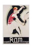 Ram Giclee Print by René Vincent