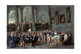 To Visit the Sick Giclee Print by Cornelis De Wael