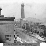 Shot Tower and the Miners Foundry in San Francisco Photographic Print