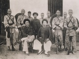 Late 19th Century Portrait of Vietnamese Guerrillas Photographic Print by Leonard de Selva