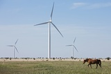 Wind Farm, Vega, Texas Photographic Print by Paul Souders