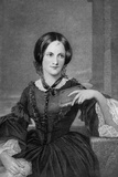 Engraving of Charlotte Bronte Photographic Print