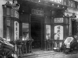Entrance to Gambling House Photographic Print