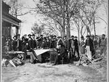 United States Military Railroad Crew Photographic Print
