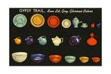 Gypsy Trail Pottery Giclee Print