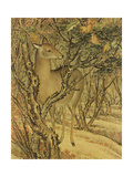 A Detail from Autumn Cries on the Artemesia Plain Giclee Print by Lang Shining
